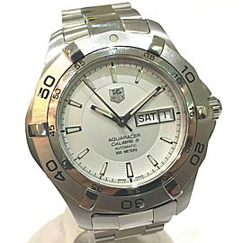 TAG HEUER WAF2011 Aquaracer Stainlees Steel Caliber 5 Wrist watch