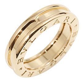 BVLGARI 18K Rose Gold B-Zero 1 XS Band Ring CHAT-11