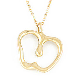 TIFFANY&Co. 18K yellow Gold Apple Necklace CHAT-355