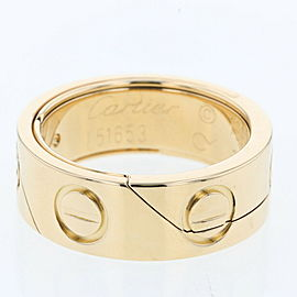 CARTIER Astrolab K18 Yellow Gold Ring TBRK-310