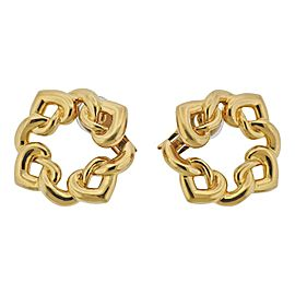 Bulgari Doppio Cuore Gold Earrings
