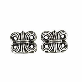 Lagos Caviar Sterling Silver Earrings