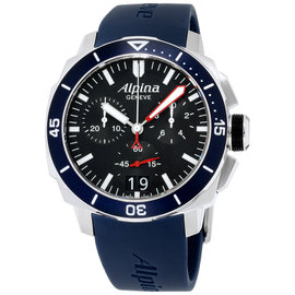 Alpina Seastrong AL-372LBN4V6 44mm Mens Watch