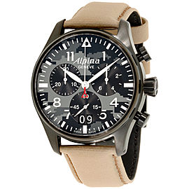 Alpina Startimer AL372BGMLY4FBS6 44mm Mens Watch