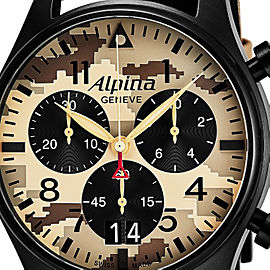 Alpina 44mm Mens Watch