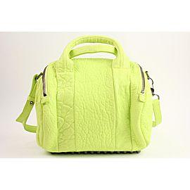 Alexander Wang Neon Yellow Rocco Bag 2way Boston Bag