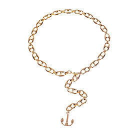 Gucci Mariner Link Anchor Necklace