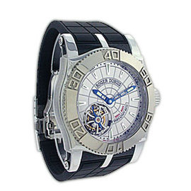 "Roger Dubuis ""Easy Diver"" Sports Activity Tourbillon Stainless Steel Strapwatch"