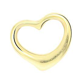 Tiffany & Co. 18k Gold Open Heart Pendant
