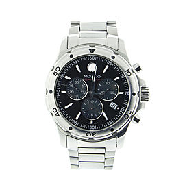 Movado Series 800 14.1.14.1060 Stainless Steel Chronograph Quartz Watch
