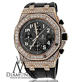 Audemars Piguet Royal Oak Offshore 25940OK.OO.D002CA.01.A. Chronograph Rose Gold Custom Diamond Watch
