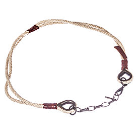 Dolce And Gabbana Twine Necklace Belt