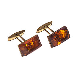 Baltic Amber Cufflinks