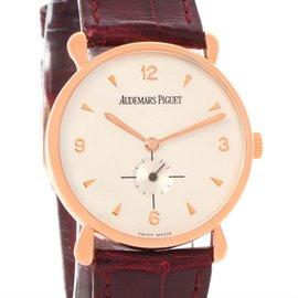 Audemars Piguet 18K Rose Gold Manual 32mm Unisex Watch