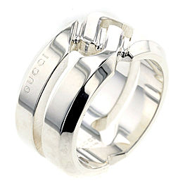 GUCCI knot 925 Silver Ring TBRK-316