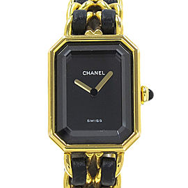 Chanel Premiere Gold Plated Quartz 22mm Womens Watch