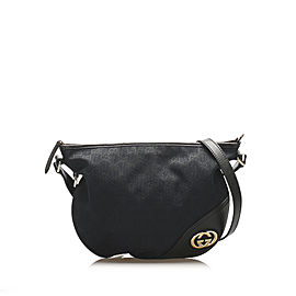 Britt GG Canvas Crossbody Bag