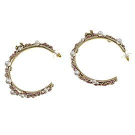 Chanel P19S Fake Pearl Earrings