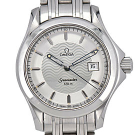 OMEGA Seamaster 120M 2571.31 Silver Dial Quartz Women's Watch