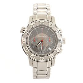Tiffany & Co. Mark T-57 Chronograph Automatic Watch Stainless Steel 42