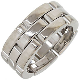 Cartier Mailon Panthere Ring in 18K White Gold US4.5 w/Box