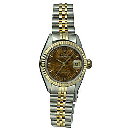 Rolex Datejust 6917 Stainless Steel and Yellow Gold 26mm Automatic Women Vintage Watch