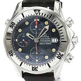 Polished OMEGA Seamaster Professional 300M Chronograph Watch 2598.80