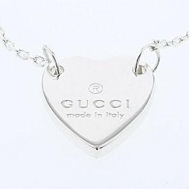 GUCCI 925 silver heart bracelet