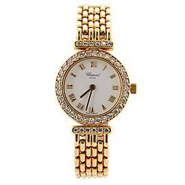 Chopard Classique Quartz Watch Yellow Gold with Diamond Bezel 20