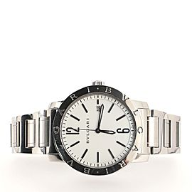 Bvlgari Bvlgari Bvlgari Solotempo Automatic Watch Stainless Steel 41