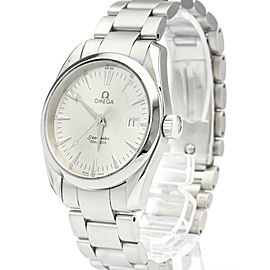 OMEGA Seamaster Aqua Terra Steel Quartz Mens Watch 2518.30
