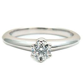 Tiffany & Co. 0.22ct Platinum & Diamond Solitaire Ring