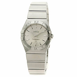 OMEGA 123.10.27.60.02.001 Constellation Stainless Steel/Stainless Steel Blush Watch TNN-2054