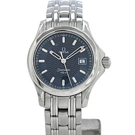 Omega 2571.81 Seamaster Stainless Steel Quartz 27mm Womens Watch