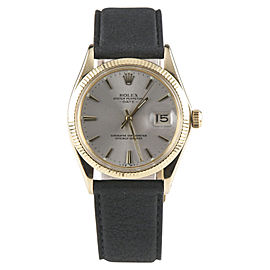 Rolex Oyster Perpetual Date 1503 34mm Mens Watch