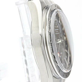 Polished OMEGA Speedmaster Broad Arrow Co-Axial GMT Mens Watch 3581.50