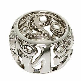 FRANCK MULLER 18K White Gold Talisman Diamond Ring