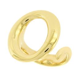 Tiffany & Co. Elsa Peretti 18K Yellow Gold Sevillana O Ring Size 6