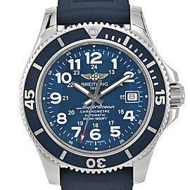 BREITLING Super OceanⅡ 42 A17365 SS/Rubber Automatic Men's watch