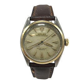Rolex Oyster Perpetual 6084 Mens 32mm Vintage Watch 1954