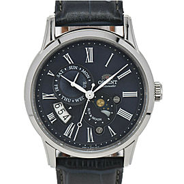 ORIENT Classic RN-AK0004L Sun & Moon Navy Dial Automatic Men's Watch