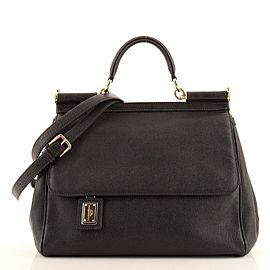 Dolce & Gabbana Miss Sicily Bag Leather Large