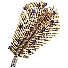 Gold Sapphire Line Bracelet