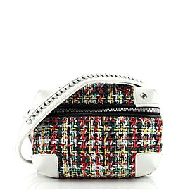 Chanel Street Allure Waist Bag Quilted Tweed