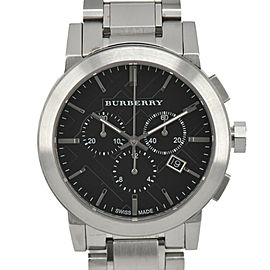 BURBERRY BU9351 black Dial chronograph Quartz Men's Watch