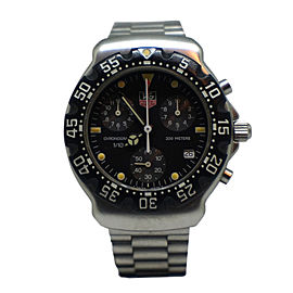 Tag Heuer Formula 1 Chronograph CA1211-RO Stainless Steel Quartz 38mm Mens Watch
