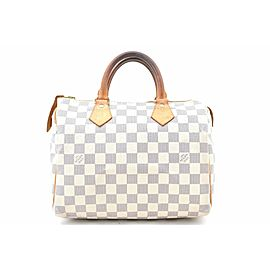 Louis Vuitton Damier Azur Speedy25 Hand Bag