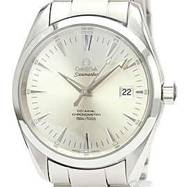 OMEGA stainless Steel Seamaster Aqua Terra Co-Axial Watch