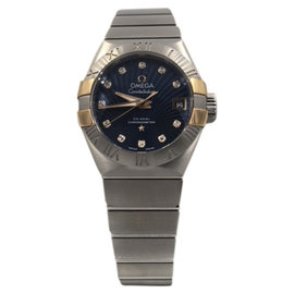 Omega Constellation 123.20.27.20.53.002 Stainless Steel 27mm Womens Watch