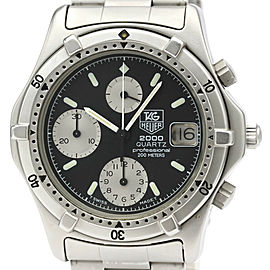 TAG HEUER Stainless steel 2000 Series Choronograph Watch
